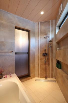 自社施工のバスルーム