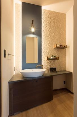 オリジナル施工の洗面化粧台