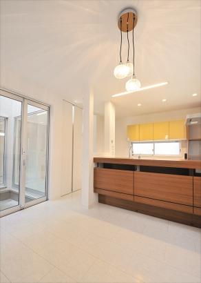 デザインと機能性を考えたキッチン