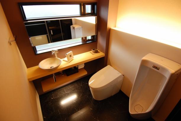 トイレ 信楽焼き手水鉢