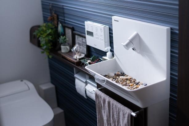 トイレもくつろぎの大切な空間 インテリアにもおだわりを