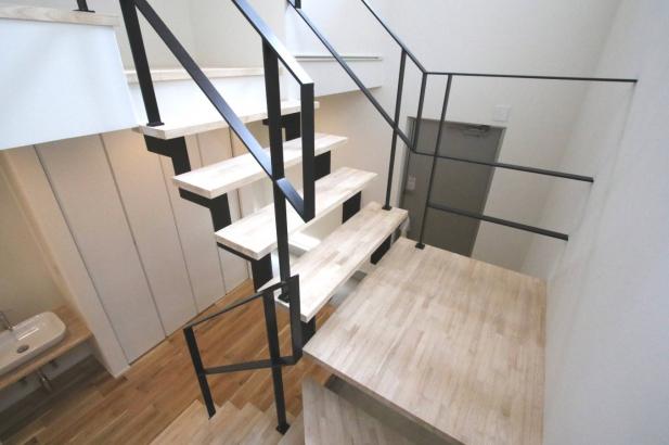 アイアンを使った階段