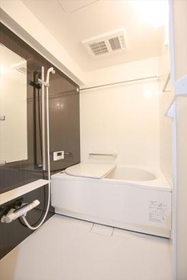 浴室乾燥もできるバスルーム